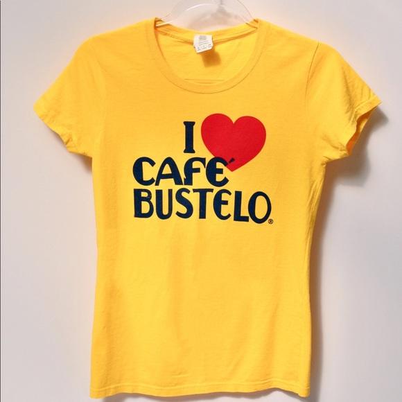 I Love Cafe Bustelo Vintage Shirt S